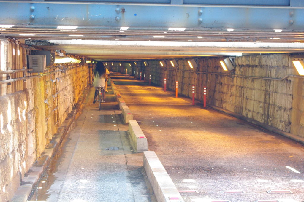 Sengakuji Tunnel in Tokyo