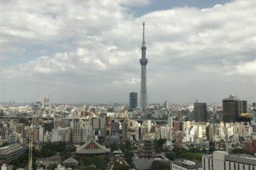 Tokyo Sky Tree from Asakusa View Hotel