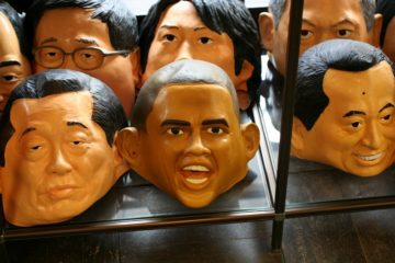 Making Party Masks in Japan