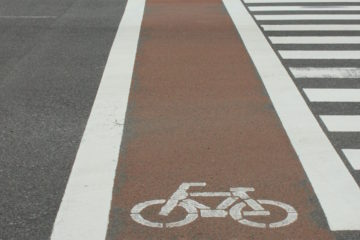 Cyclists Lanes in Japan