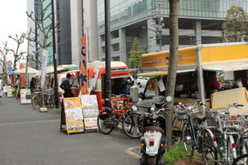 Lunch Cars in Japan