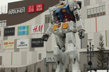 Real Gundam in Tokyo