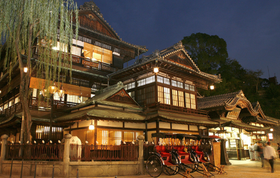 Dogo Onsen (hot spring) is one of the oldest onsen in Japan